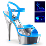 Scarpe Pleaser Delight-609NC/NBL/SCH